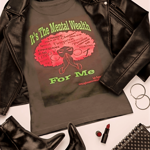 Mental Wealth Series Woman's Tee