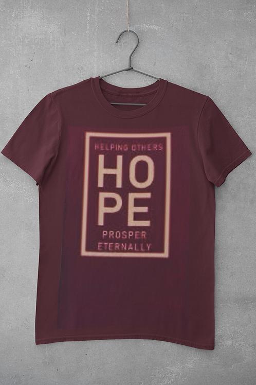 """H.O.P.E  Unisex T-shirts"