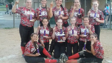 14U Red Finishes 1st at USSSA Rockin' Summer Spectacular!