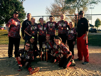 12U Black Finish Fall Strong
