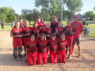 11u Heat Places 2nd in USSSA Roselle Rockin' Summer Spectacular