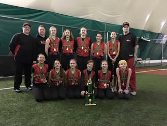 12U Black Finishes 2nd at Early Birdie