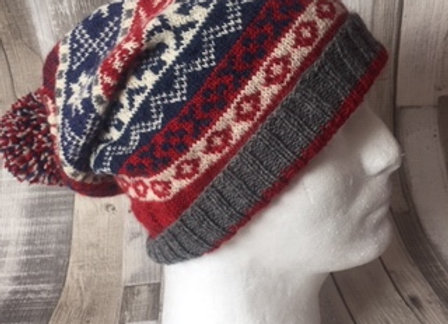 Scandinavian Style Knitted Beanie