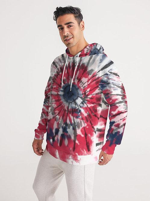 Mens tie dye hoodie