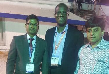 Dr Odame and my longterm friend Bhavesh
