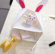 ウサギの家