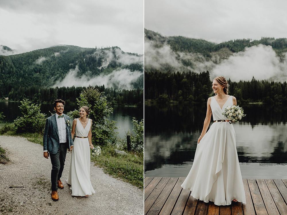 Brautpaar am Ödensee