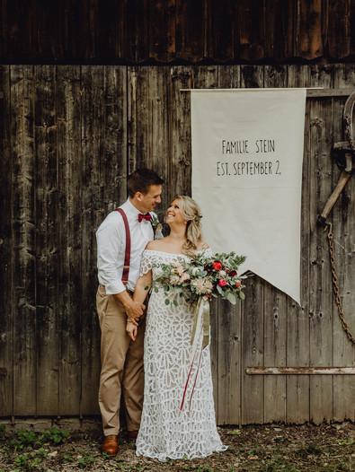 Boho Hochzeit, Boho Braut, Vintage Hochzeit, Vintage Brautstrauß, Ivory Rose Photography, Scheunen Hochzeit