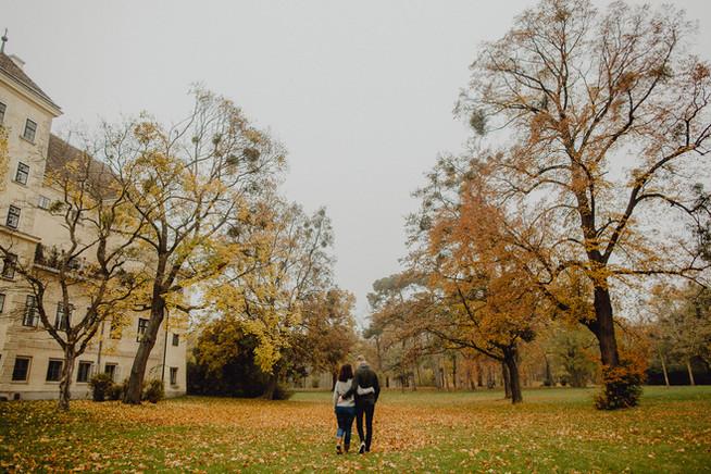 Paarshooting, Laxenburg, Herbst