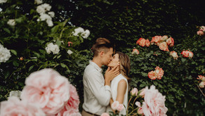 Verlobungsshooting im Volksgarten Wien
