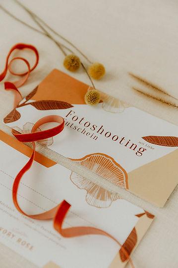 Fotoshooting schenken, Fotoshootinggutschein, Gutschein, Ivory Rose Photography