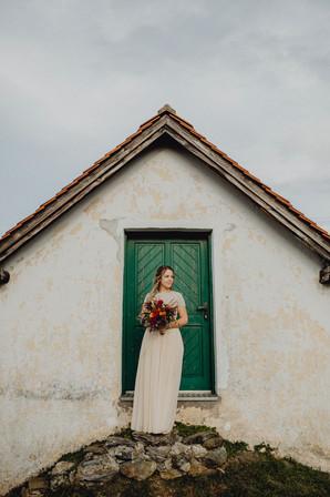 Brautporträt, Hochzeit am Hannersberg,  Ivory Rose Photography