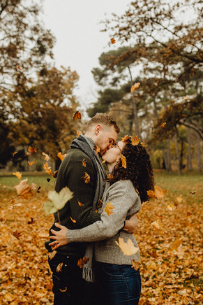 herbstliches Paarshooting, Laxenburg, Paarshooting Herbst Inspiration