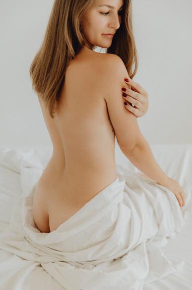 boudoirfoto rückenansicht