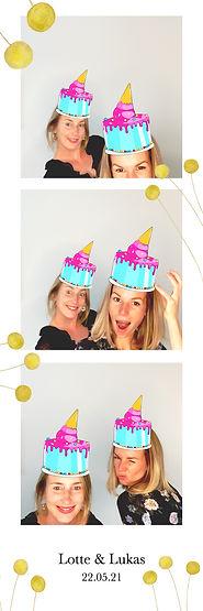 Geburtagsfeier, Fotobox mieten
