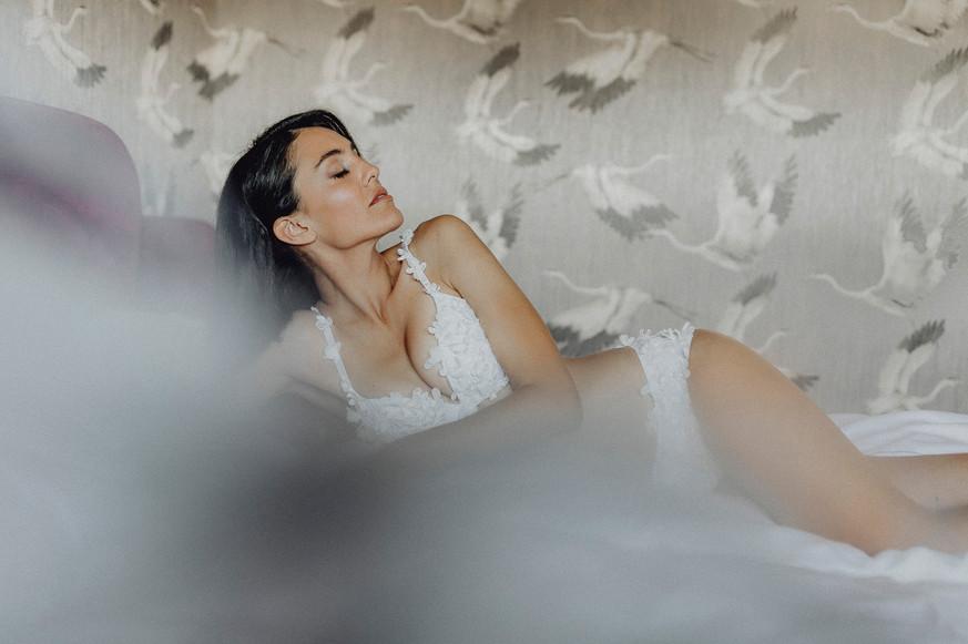 traumhafte boudoirfotografie in lingerie