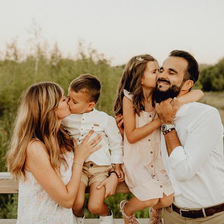 Familienshooting in der Lobau