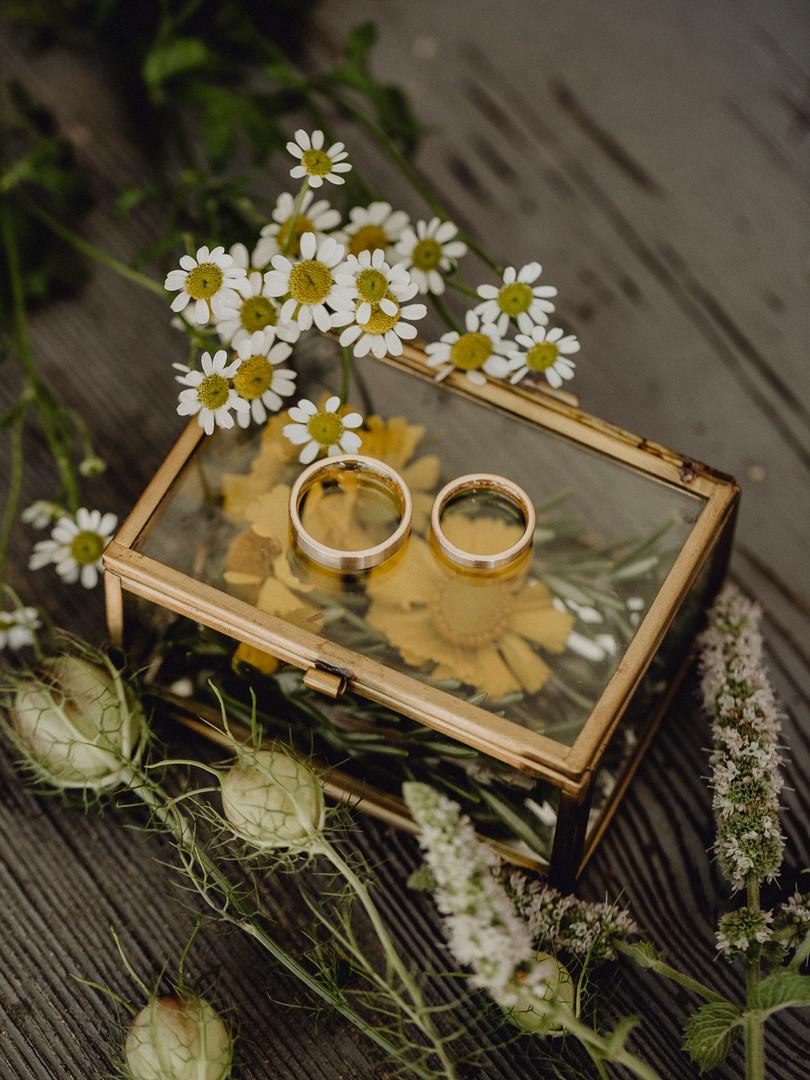 Eheringe, Boho Hochzeit, Vintage Hochzeit, Ivory Rose Photography