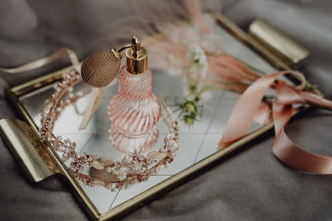 detailfoto, flacon, parfum, vintage tableau, rose