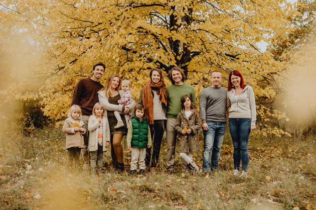 Familienfotoshooting Herbst