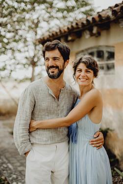natürliches Paarfoto in Italien