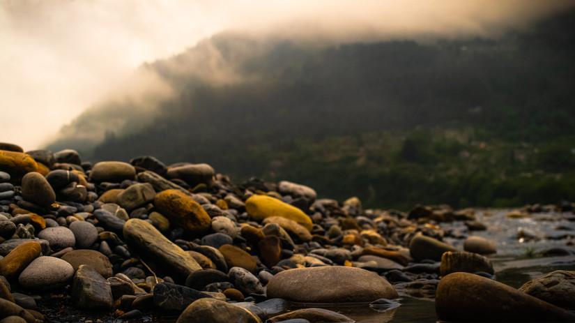 Himalayan River Rocks
