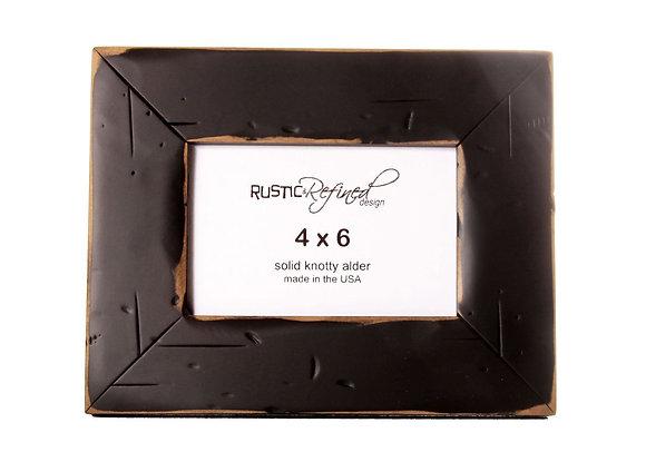 4x6 Cabin picture frame - Black
