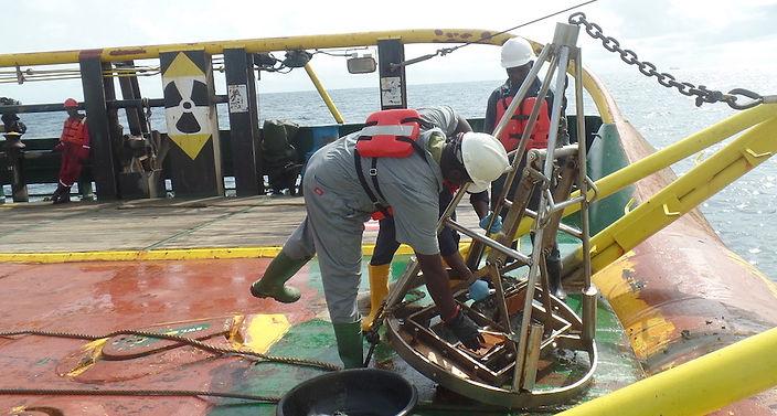 Offshore Sediment Sampling 1.JPG