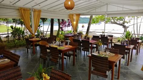Area externa do restaurante