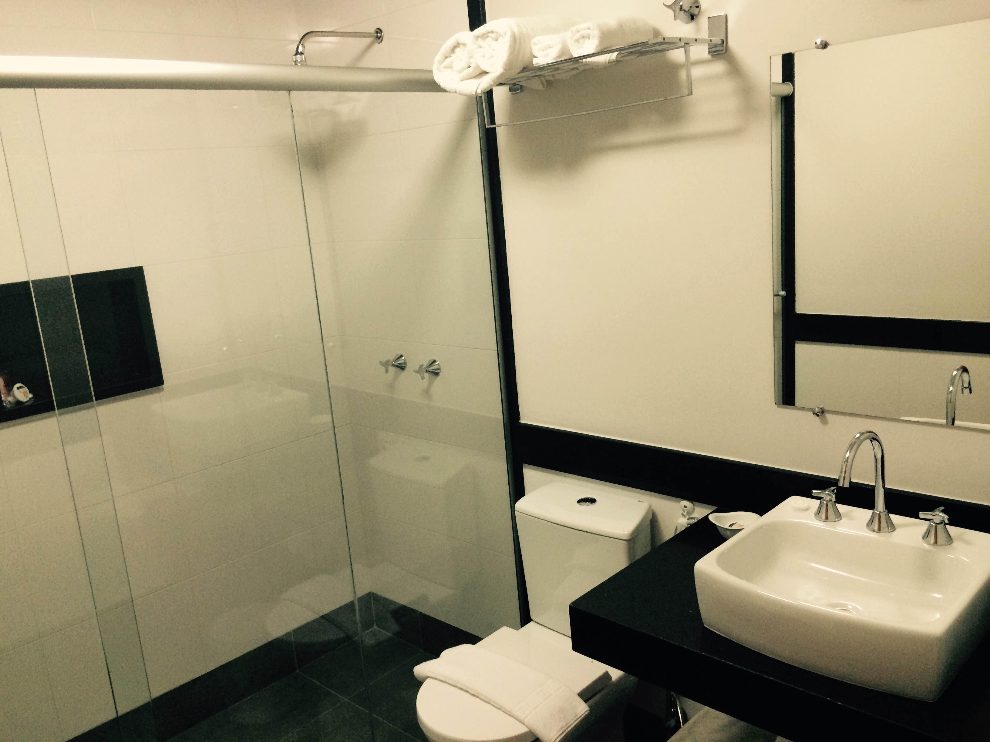 banheiro apartamento térreo