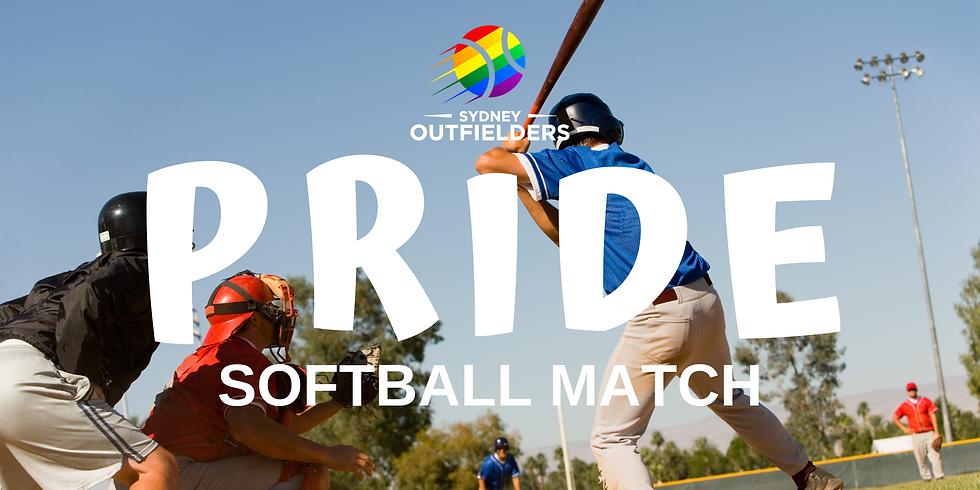 Pride Softball Match