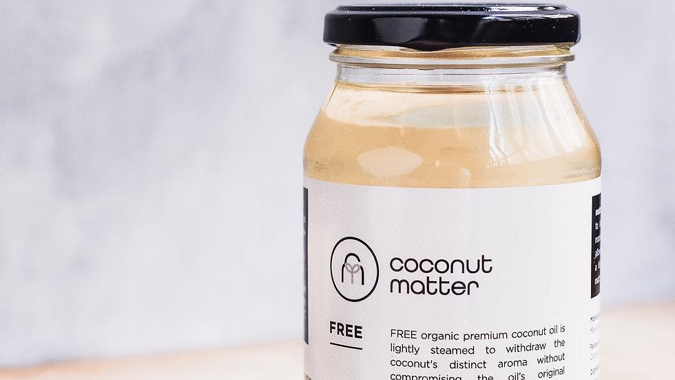 Coconut Matter FREE Odourless Coconut Oil 500ml Coconut Matter 有機無味精煉椰子油500ml