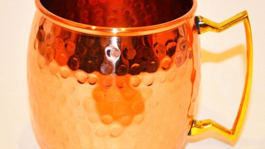 Handmade 100% Pure Copper Mug 全人手打造純銅水杯
