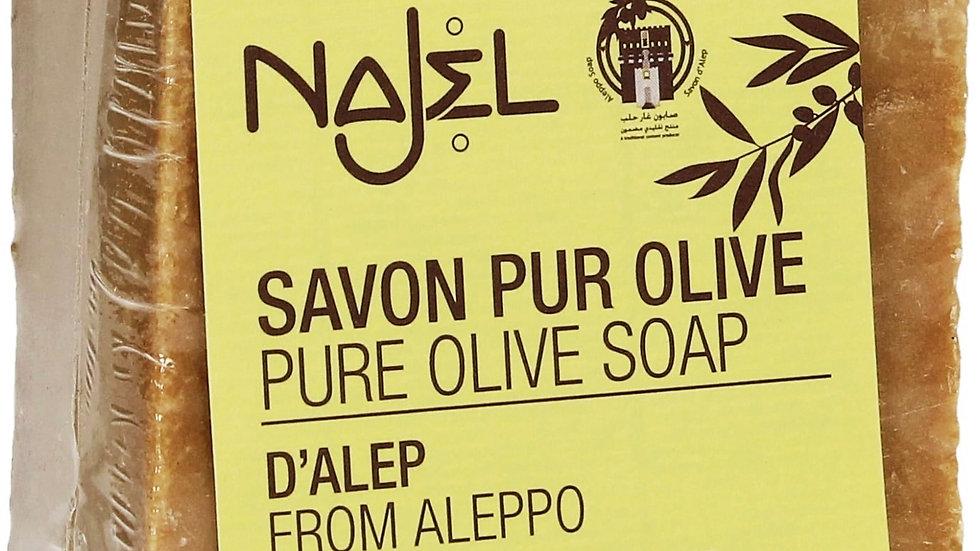 Aleppo Najel 100% Olive 60gm 阿勒頗Najel古皂100%橄欖油60克