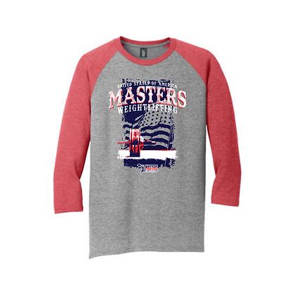 Masters Flag Unisex Baseball Shirt