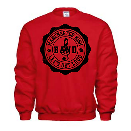 Manchester Panthers Band Logo #25 Unisex Crew Neck Sweatshirt