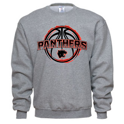 Manchester Panthers Basketball Logo #39 Unisex Crew Neck Sweatshirt