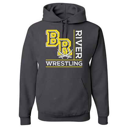 Black River Wrestling Design 1 Hoodie