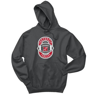 Northwest Indians Football Logo Hoodie