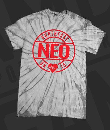 NEO Gray Tie-Dye T-Shirt