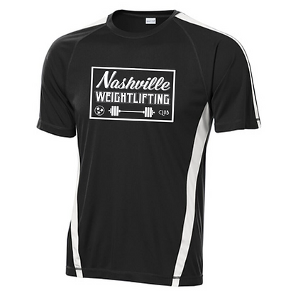 Nashville Weightlifting Men's Colorblock T-Shirt