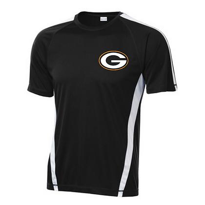 Green Wrestling Sport Teck Logo #10 T-Shirt
