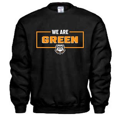 We Are Green Crew Neck Sweatshirt