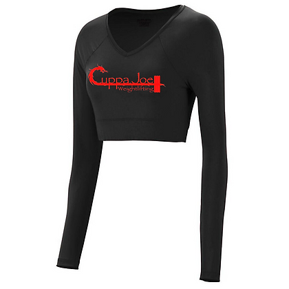 Cuppa Joe Ladies V-Neck Liner (Red Logo)