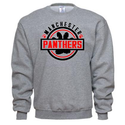 Manchester Panthers General Logo #3 Unisex Crew Neck Sweatshirt
