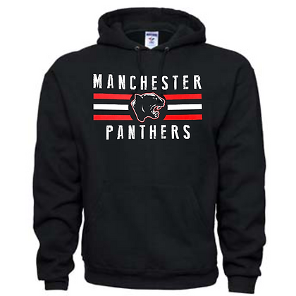 Manchester Panthers General Logo #12 Unisex Hoodie