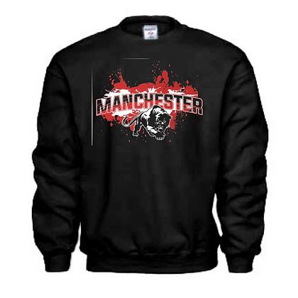 Manchester Panthers General Logo #5 Unisex Crew Neck Sweatshirt
