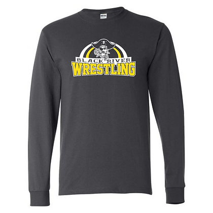 Black River Wrestling Design 2 Long Sleeve T-shirt