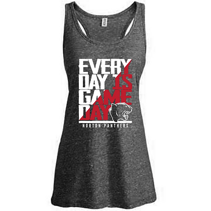 Everyday is Gameday Norton Panthers Ladies Tank Top