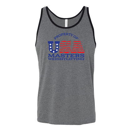 Property of USA Masters Unisex Tank Top